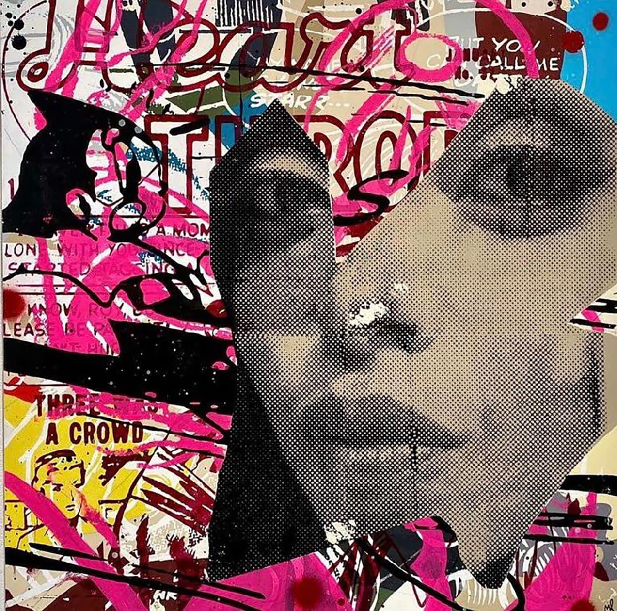 marly mcfly, joanne artman gallery, street art, figurative, pop art