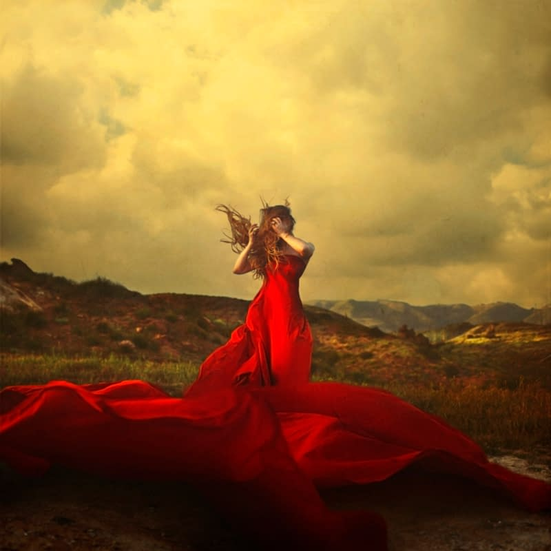 A Storm to Move Mountains Brooke Shaden