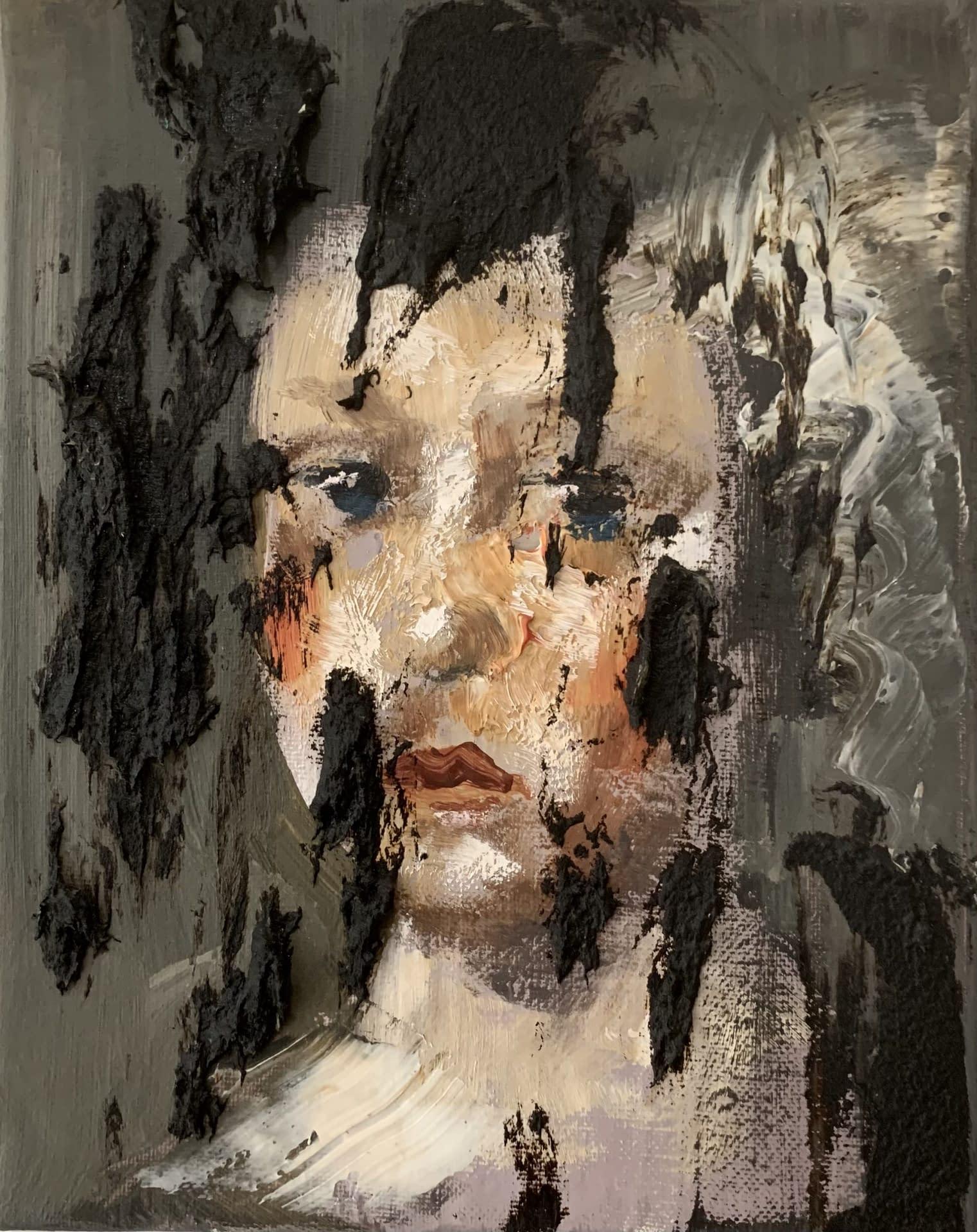 Disillusioned_Martin_Adalian_acrylic_oil_tar_on_canvas_10_x_8