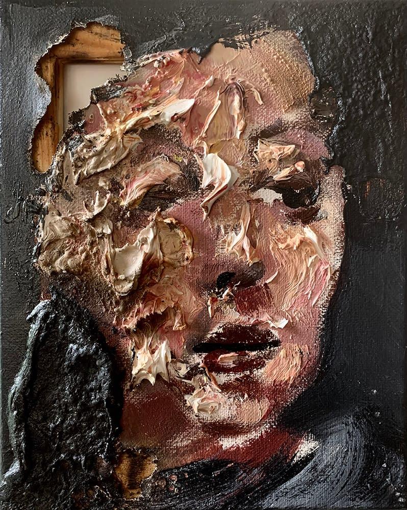 Disintegration_Martin_Adalian_Acrylic_Oil_Tar_on_Canvas_10_x_8