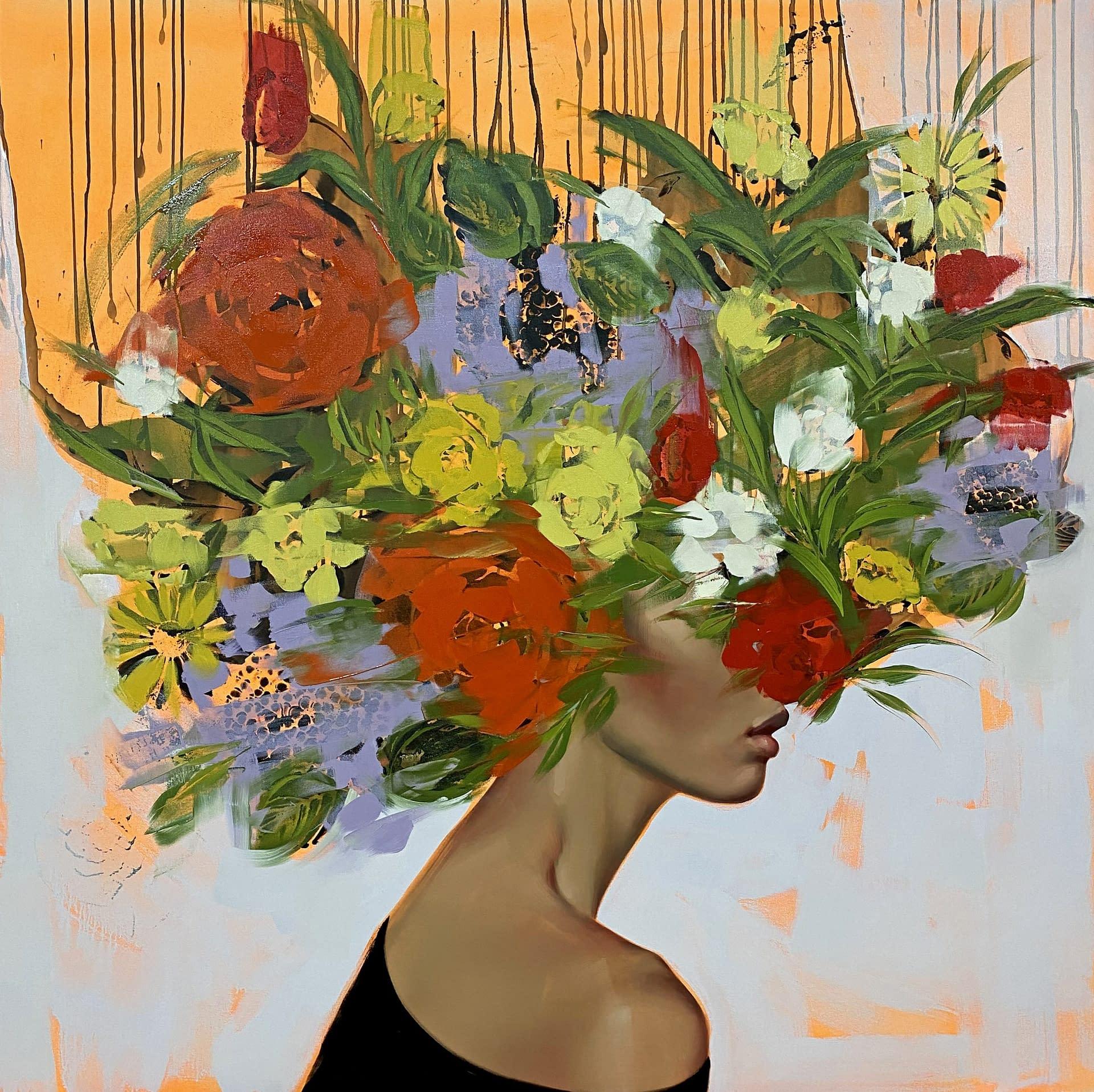 anna kincaide joanne artman gallery oil on canvas lofty dreams