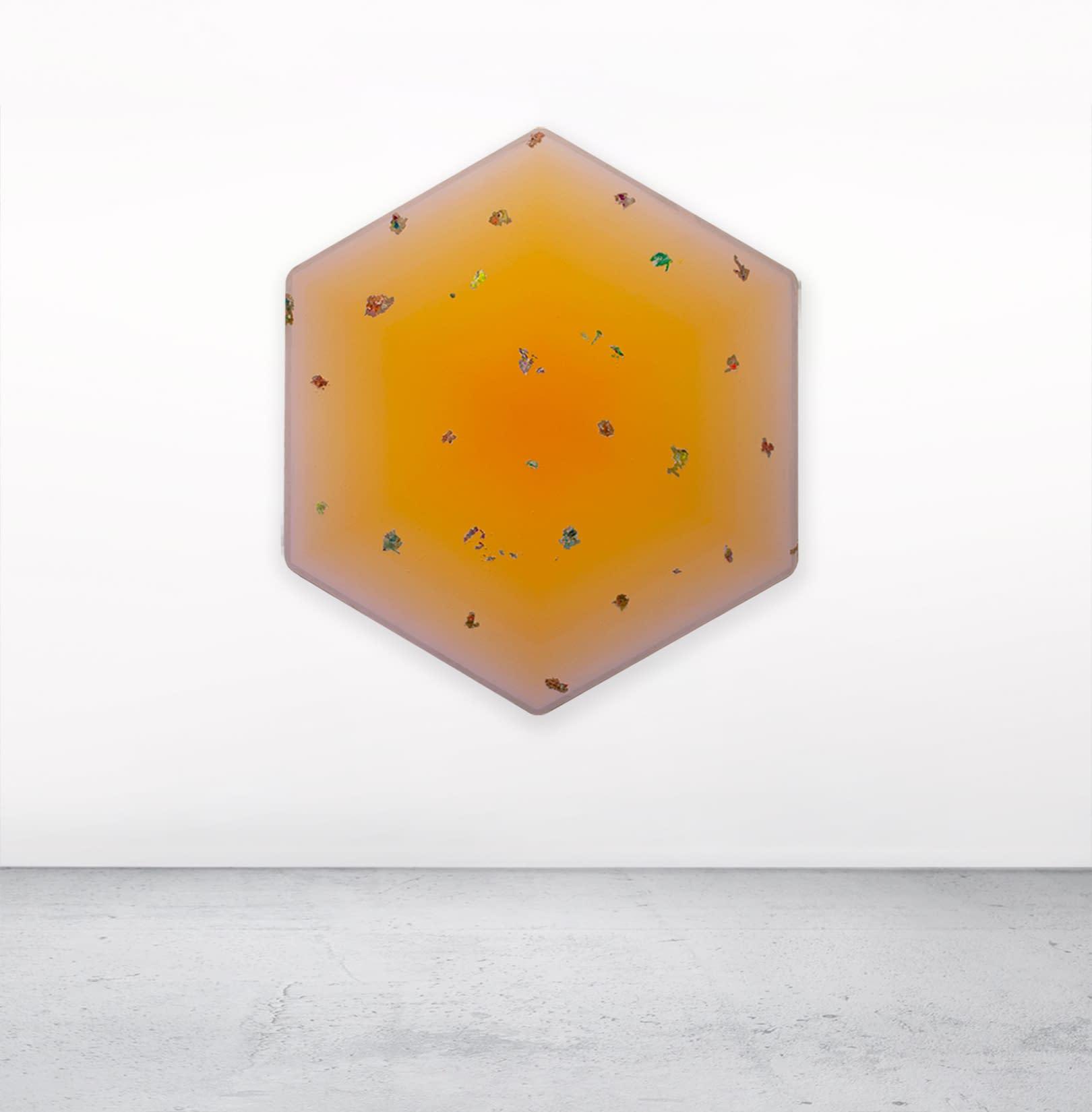 Mexican_Marigold_Lisa_Bartleson_Acrylic_on_Linen_65_x_56_x_1.5_Install