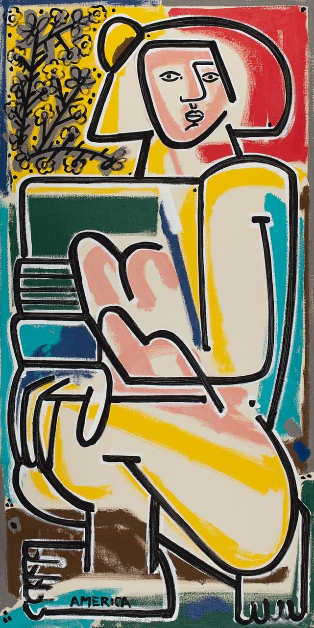 america martin 2021 joanne artman gallery linen figurative