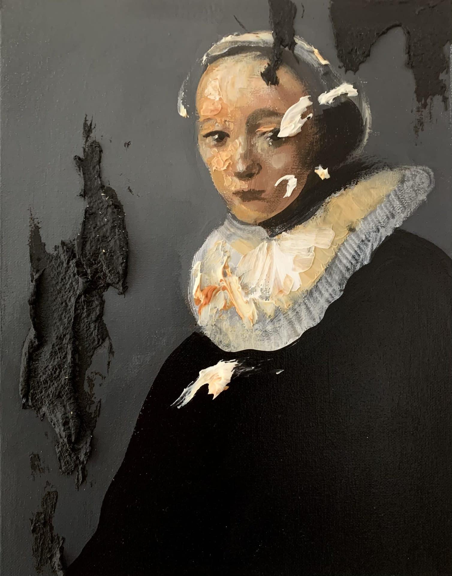 She_Martin_Adalian_Acrylic_oil_tar_on_canvas_14_x_11