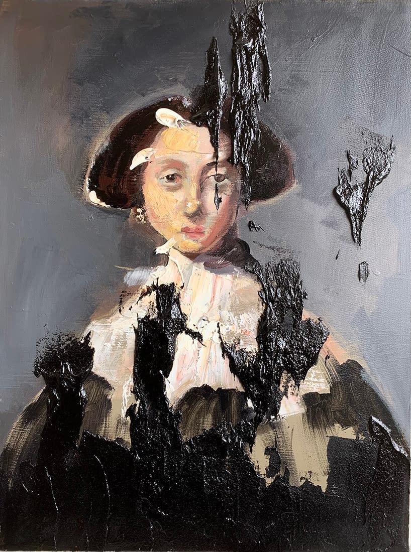 Tears_of_tar_Martin_Adalian_acrylic_oil_tar_on_canvas_24_x_18