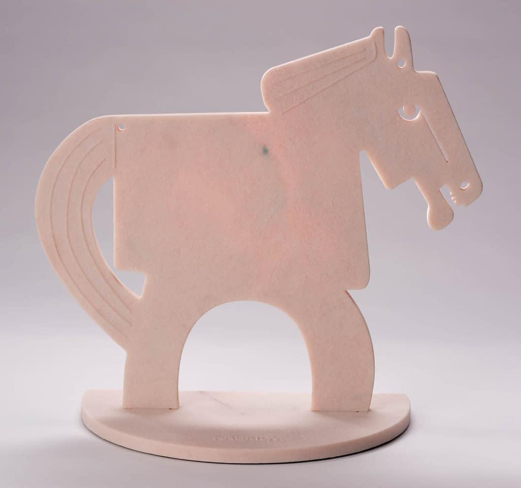 rose quartz horse tall america martin