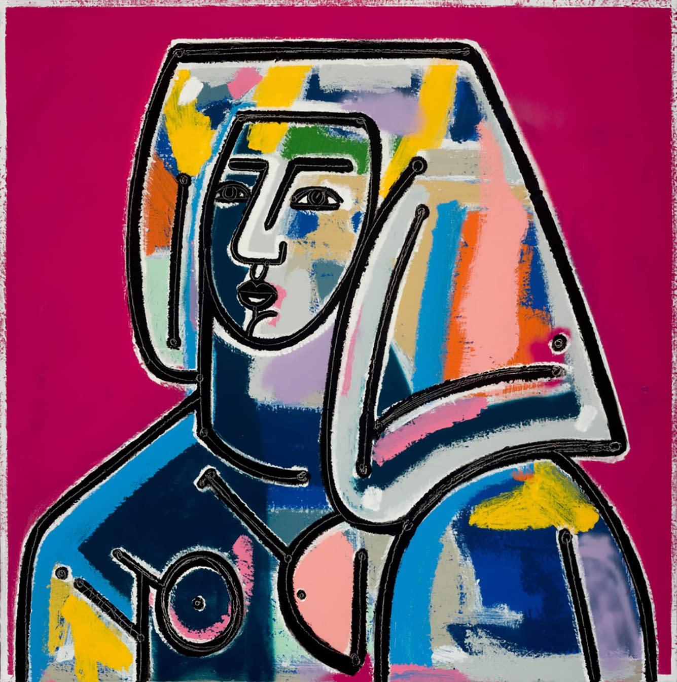 Woman_with_Hair_Down_oil_acrylic_on_canvas_40x40