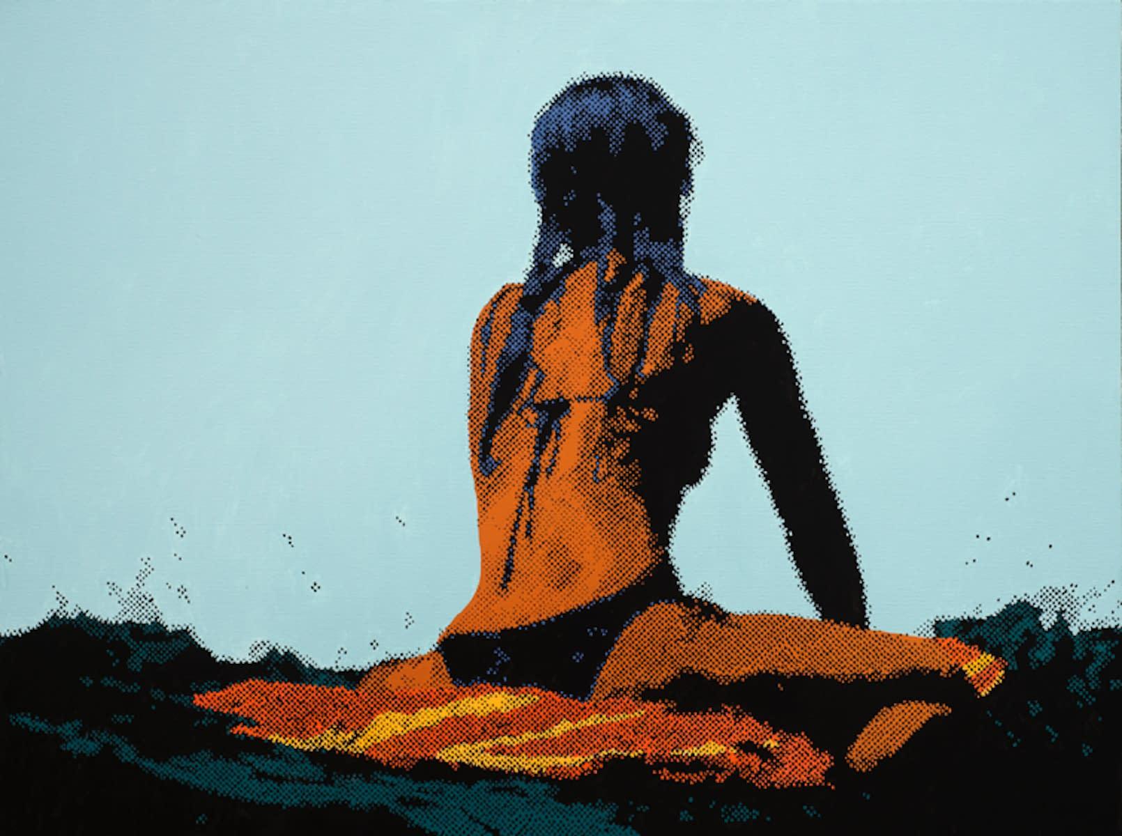 Surfer_Girl_I_oil_on_canvas_30_x_40_19000