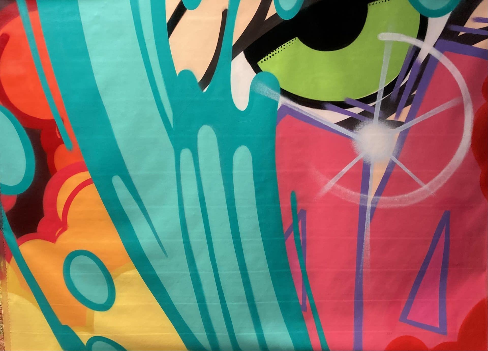 john crash matos joanne artman gallery spray paint graffiti art