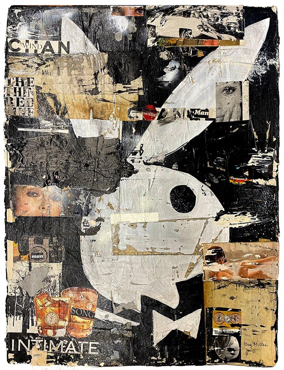 WindBunny_Greg_Miller_acrylic_collage_on_paper_30_x_23