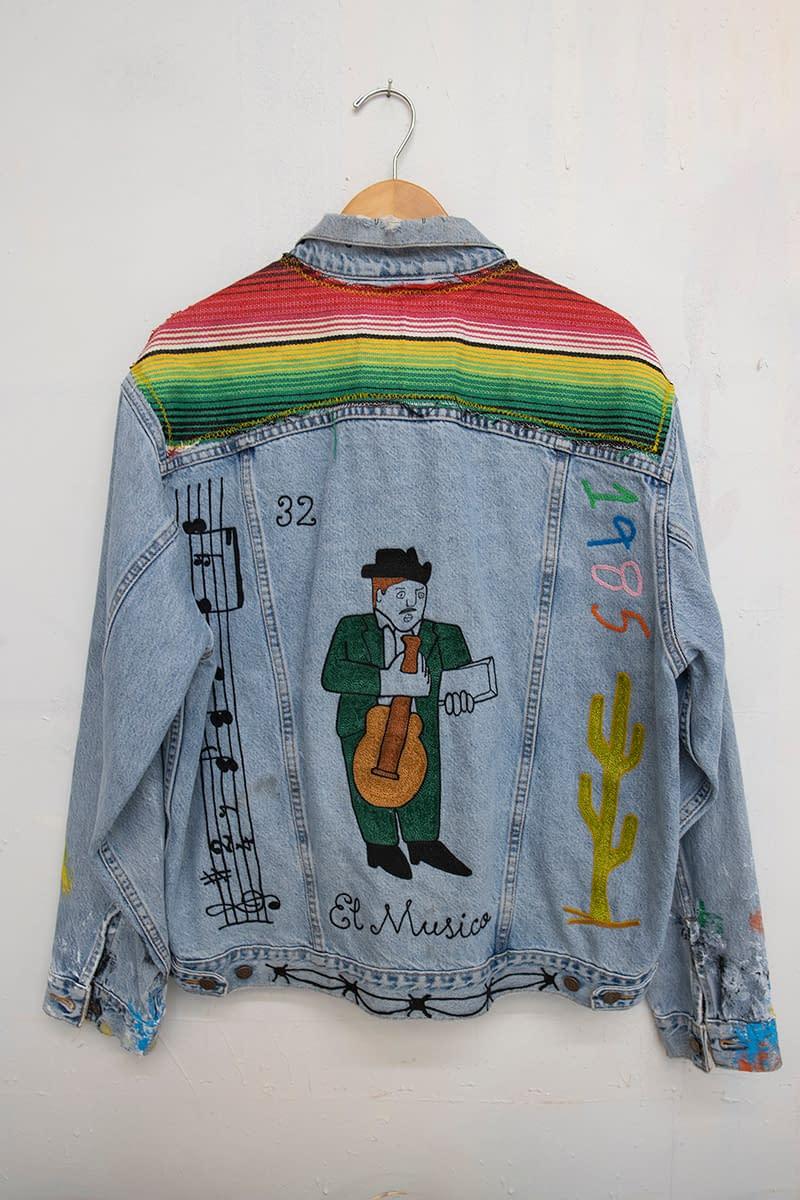 jada_jon_the musician_reworked vintage denim jacket_seeing america_america martin_joanne artman gallery
